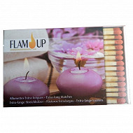 Flam'up allumettes longues x55