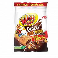 Whaou! crêpes cracky chocolat et céréales x15 480g