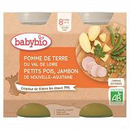 Babybio leg jambon sans guten 2x200g