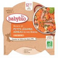 Babybio petit plat légume agneau sans gluten dès 12 mois 230g