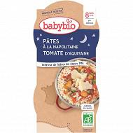 Babybio bonne nuit pâtes à la napolitaine dès 8 mois 400g