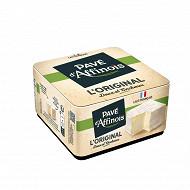 Pavé d'Affinois l'original au lait de vache pasteurisé 200g 20%mg