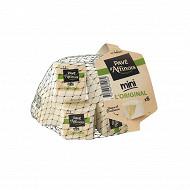 Pavé d'affinois mini l'original 6X30g 31%mg lait de vache