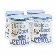 Malo yaourt aromatisé coco lait entier 4x125g