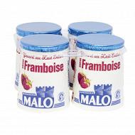 Malo yaourt saveur framboise 4 x 125g