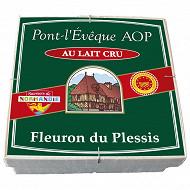 Fleuron du Plessis Pont l'Evêque au lait cru AOP 24%mg - 220g