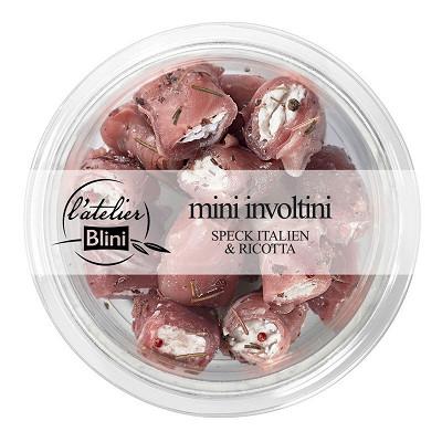 Blini Atelier Blini Mini Involtini speck Italien et ricotta 120g