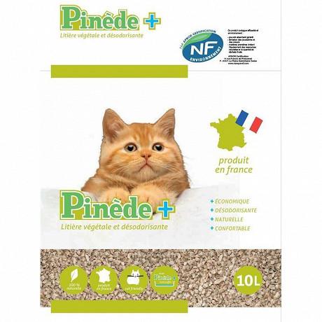 Litière pinède + 10l concassée dans sac papier 2x80