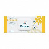 Biolane lingettes à l'huile d'olive x64
