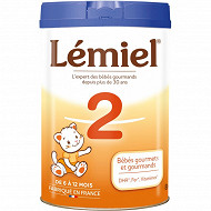 Lemiel lait poudre 2ème âge 800g
