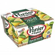 Panier de Yoplait standard fruits de saison 4x130g