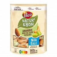 Vico natur'& bon mélange amandes cajou pistache 140g