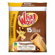 Whaou! crêpes chocolat x15  480g