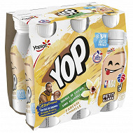 Ptit yop aromatisé vanille 6x180g