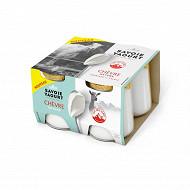 Savoie Yaourt yaourt aux lait de chèvre nature 4x120g