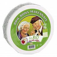Le bon mayennais brie bio au lait entier 1kg