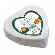 Fleuron du Plessis Neufchatel au lait cru AOP 24%mg 200g