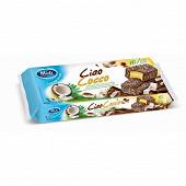Ciaococo 10 mini - Génoises fourrées et enrobées chocolat & coco - 350 g