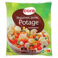 Cora légumes pour potage 1kg