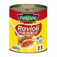 Panzani ravioli pur boeuf francais - plat cuisiné 800g