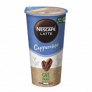 Nescafé Caffe Latte à boire Cappuccino 1x19cl