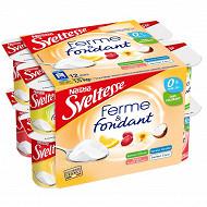 Sveltesse yaourt ferme et fondant allégé fruits panachés 12x125g