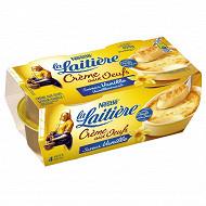 La Laitière Crème aux oeufs saveur vanille 4x100g