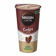 Nescafé Caffe Latte à boire Cookies 1x19cl
