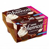 Le viennois Liégeois chocolat 4x100g offre eco