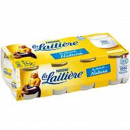 La Laitière Yaourt au lait entier nature 8x125g
