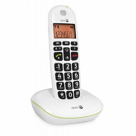 Doro Téléphone sans fil solo PHONEEAY 100W BLANC