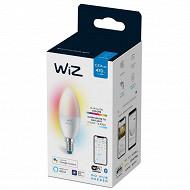 Wiz ampoule led flamme E14 Color 40W boite de 1