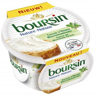 Boursin Boursin touche d'herbes méditerranéennes pot 120g