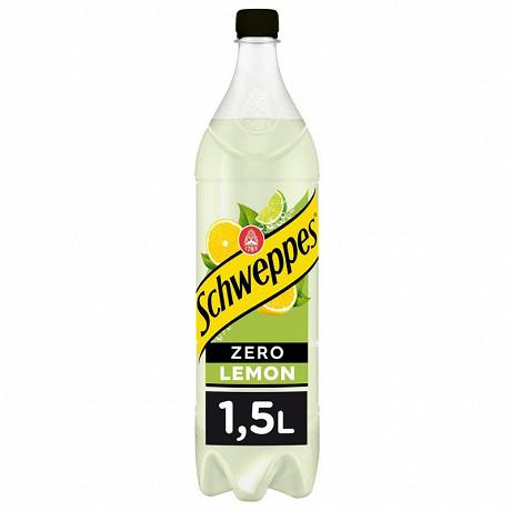 Schweppes zéro lemon pet 1,5l