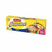 Brossard savane poket pepit'chocolat 210g