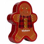 Walkers gingerbread man tin   300g