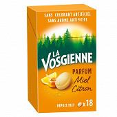 La vosgienne miel citron étui 36g