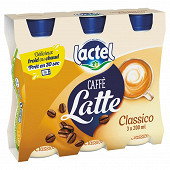 Lactel caffe latte classico 3x200ml