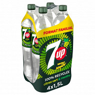 7up mojito format familial 4x1.5l