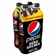 Pepsi max format familial 4x1.5l