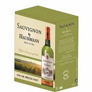 By Haussmann Pays d'Oc Sauvignon blanc bib 3L 12.5%vol