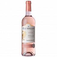By Haussmann Pays d'Oc Syrah rose 75cl 12.5%vol