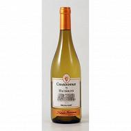 By Haussmann chardonnay vin du pays d'oc blanc 13% vol 75cl