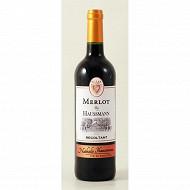 By Haussmann Pays d'Oc Merlot rouge 75cl 13%vol