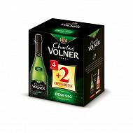 Charles volner vmq demi sec 12d carton 4+2x75cl offertes 12%vol