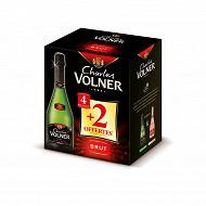 Charles volner vmq brut 12d carton de 4+2x75cl offertes 12%vol