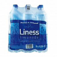 Liness limonade pack 6x125cl