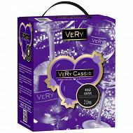 Very Cassis rosé BIB 3L 10%vol