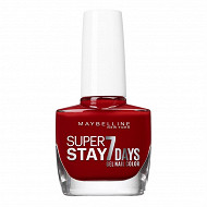 Gemey maybelline vernis à ongles Tenue&strong N°06 rouge profond NU