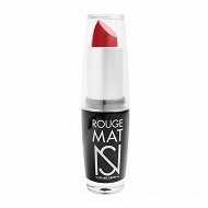 Rouge à lèvres mat ns n°03 rouge vermillon